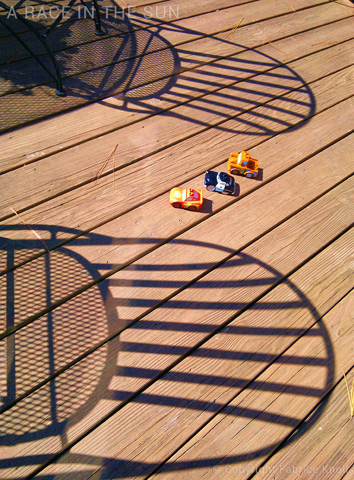 a race in the sun