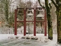Gong sous la neige